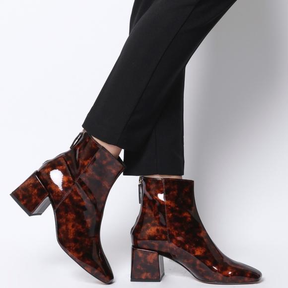 J Crew Sadie Ankle Boots Tortoise Sz